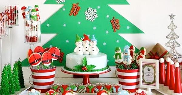 Buffet de bonbons, service pour animation Noël
