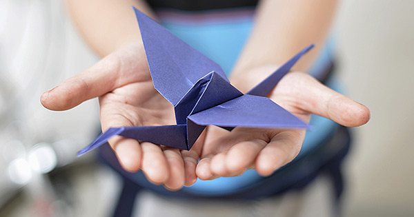 Origami - Animation arbre de Noël