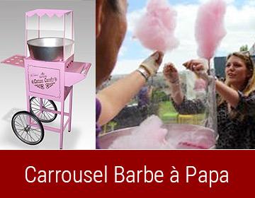 Carrousel Barbe à Papa