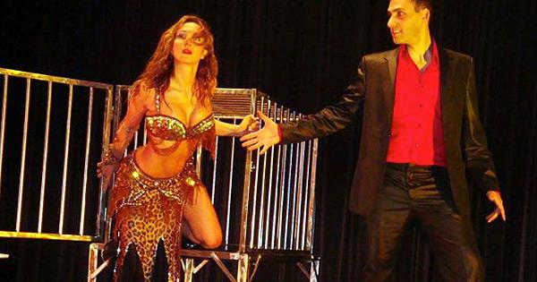Magiciens pour spectacle de Noël : Yoan TANUJI et Naïla
