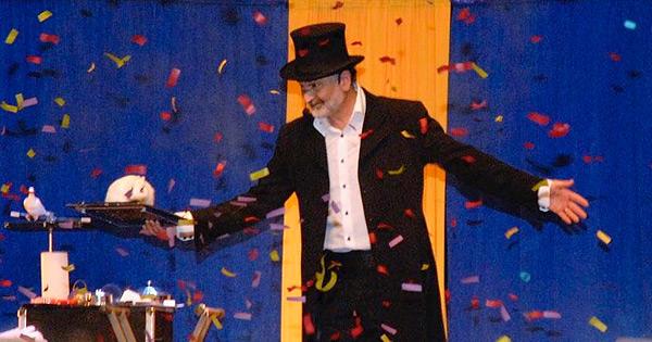 Spectacle de Noël, magicien conteur Phil
