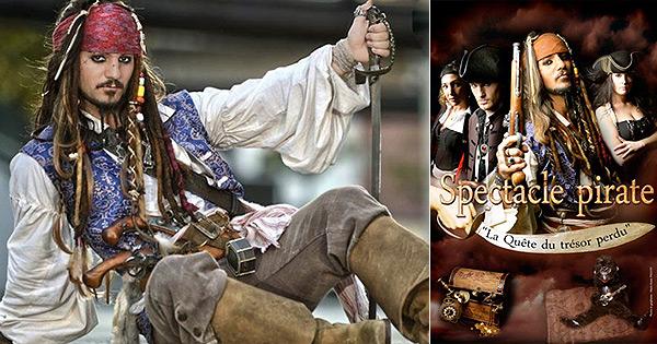 Jack & Ben les pirates, spectacle de Noël