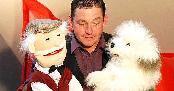 Bruno le Magicien Ventriloque, spectacle arbre de Noël